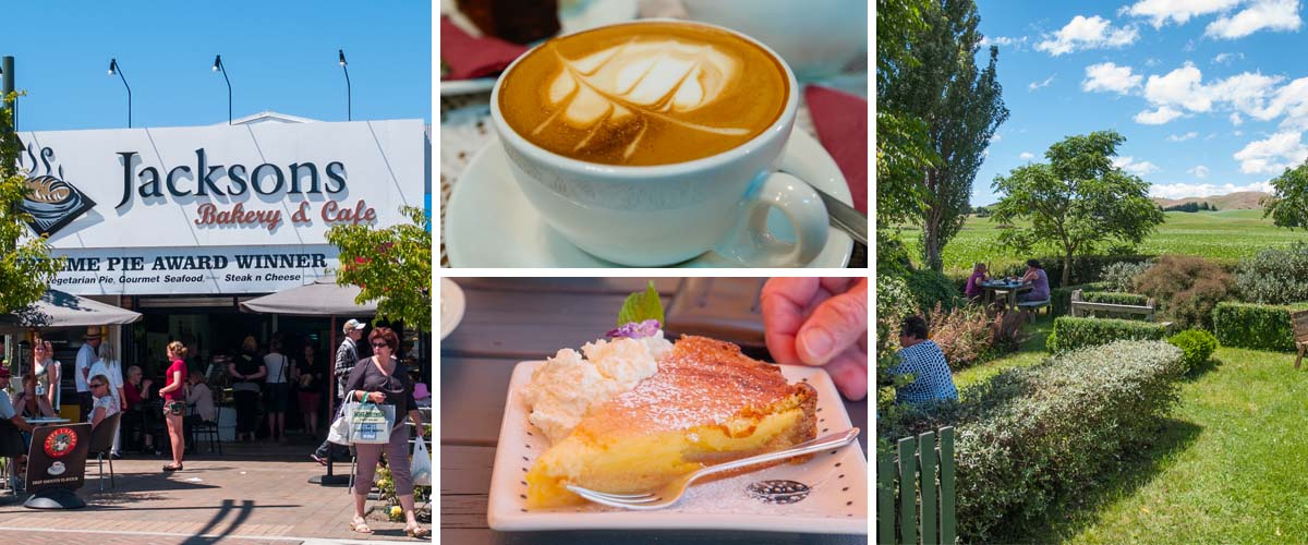 Hawkes Bay best coffee roasteries and bakeries with delightful sweets.