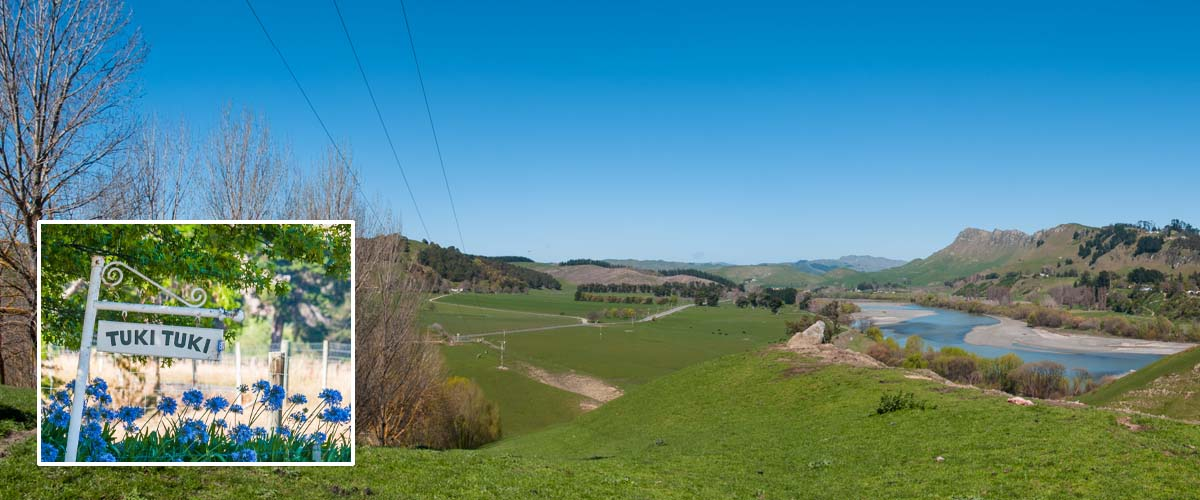 Hawkes Bay activities, take a tour along the wineries through the picturesque Tuki Tuki river valley