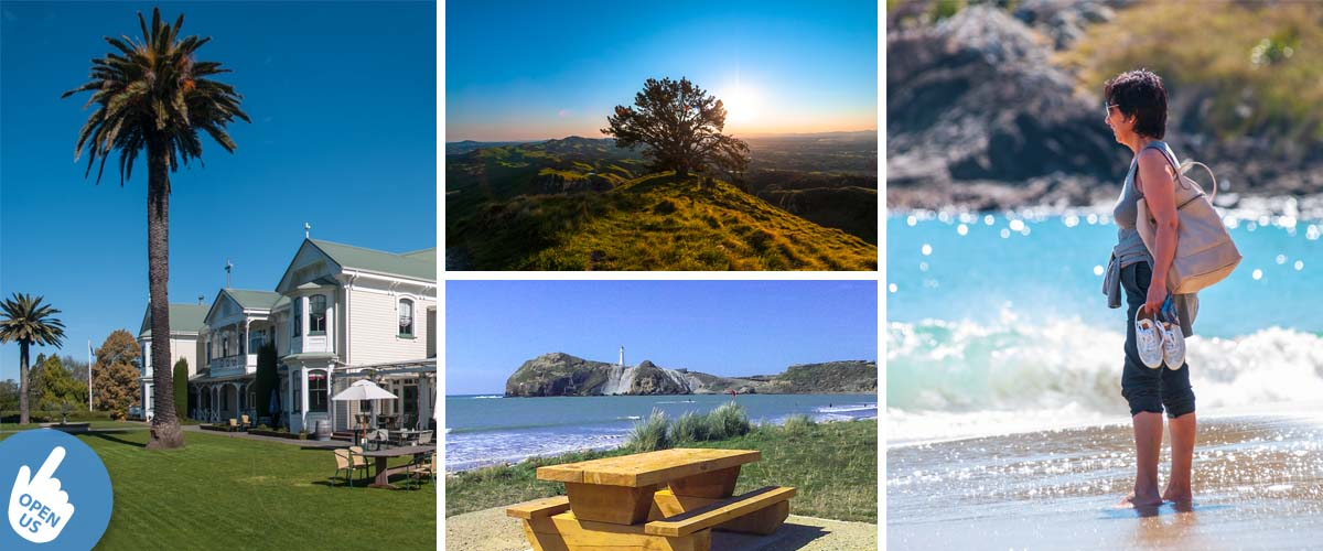 North Island has plenty to offer for some ideas for a romantic seaview getaway