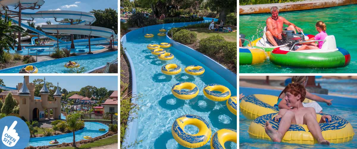 Splash Planet in Hastings NZ, real family fun. Close by a boutique family accommodation, the perfect stay for memorable holidays